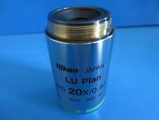 Nikon LU Plan ELWD 20x/0.40 A Objective