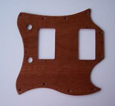 True Custom Shop® SAPELE MAHOGANY Wood FULL FACE GIBSON SG Guitar Pickguard