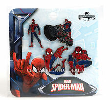 NEW Universal Studios Marvel Spider-Man Pins - 4-Pin Set