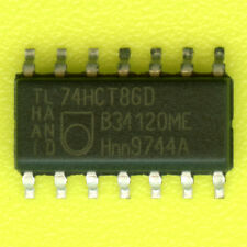 95× Philips 74HCT86 QUAD EXCLUSIVE OR GATE 5V SOIC-14 SMD SMT NXP XOR 74LS86 †