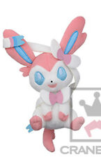 Pokemon 5'' Sylveon Kutsurogi Time Banpresto Prize Plush Anime Manga NEW