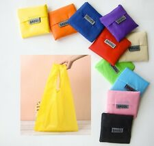 Reusable Waterproof Shopping Grocery Travel Tote Bags Lot 10 Colors