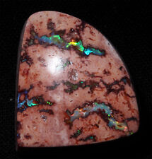 Beautiful Precious opal in rhyolite matrix Cabochon from Jalisco Mexico