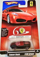 HOT WHEELS 2008 FERRARI RACER F430 SPIDER
