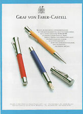 BELLEU001-PUBBLICITA'/ADVERTISING-2001- GRAF VON FABER CASTELL - GUILLOCHE
