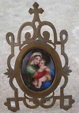 Madonna and Child Holy Virgin Vierge à l'enfant XIX ème
