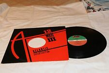 """The Firm 12""""  Single with Company Cover & Original Record Sleeve-RADIOACTIVE+2"""