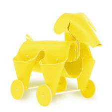 Amigos Dog Yellow Leather Desk Organizer Office Home By Vacavaliente