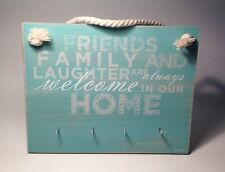 Welcome House Key - Hook - Holder - Rack Hanger House Warming Gift Ideas For Her