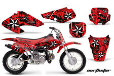 Honda Graphic Kit AMR Racing Bike Decal XR 70/50 Decal MX Part 01-03 NORTHSTAR R