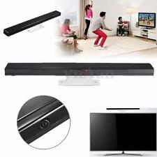 Wireless Infrared IR Ray Sensor Bar Remote For Nintendo Wii Game Controller PC