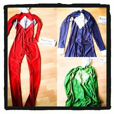 MMPR power Rangers Body Suit *custom Sizing, Any Colour Available* PRICE DROP