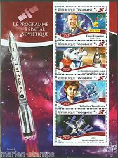 TOGO  2014 SOVIET SPACE PROGRAM  BELKA & STRELKA GAGARIN  SHEET MINT NH