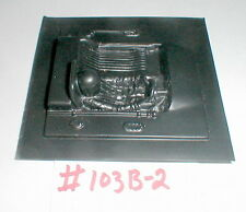 "(1) Slot Car Driver interior with Head NOS 3 1/4"" X 3 1/4"" 1960 Vintage #103B-2"