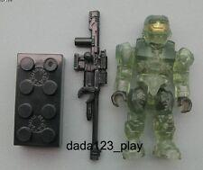 """Mega Bloks Halo UNSC Spartan Camo 2"""" Action Figure M61A"""