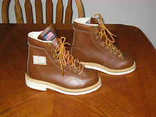 WEINBRENNER Mens 7 Fishing Wading Boots/Shoes GARY BORGER Felt Soles FLY Brown