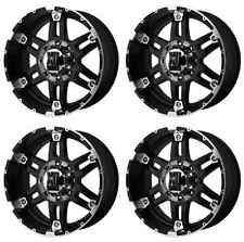 KMC XD797 SPY XD79779013312N RIMS SET OF 4 17X9 -12MM OFFSET 5X135 G-BLACK MACH