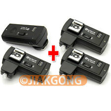 DSLRKIT RF-16NE 2.4Ghz Wireless Flash Trigger for NIKON w/ 3 Receivers