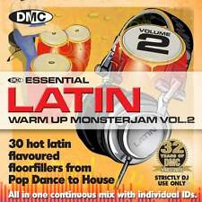 DMC Warm Up Latin Monsterjam Volume 2 Ivan Santana Megamix CD
