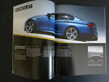 BMW M5 2013 SALES BROCHURE