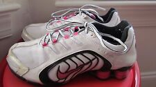 NIKE SHOX MULTI-COLOR LEATHER WOMEN'S RUNNING SHOES SIZE 8.5