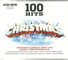 100 HITS CHRISTMAS - 4 CDS CLASSICS & PARTY HITS + SING A LONG KARAOKE DVD