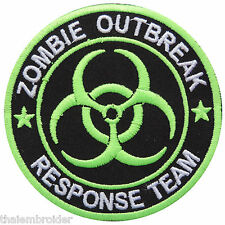Zombie Outbreak Biohazard Resident Evil Response Team Symbol Iron on Patch #M018