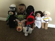 STAR WARS INSPIRED ***  10 TOY KNITTING PATTERN ONLY **