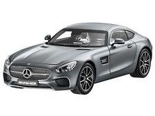 """1:18  Norev Mercedes AMG GT C190  - Designo Selenitgrau Magno  """"DEALER Version"""""""