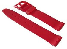 "ORIGINAL SWATCH 17mm ARMBAND ""LE ROUGE"" (ASCR101) NEUWARE"