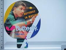 Aufkleber Sticker Tischtennis - Butterfly - Timo Boll (5555)