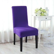 1Pc New Stretch Spandex Hotel Bar Dining Chair Seat Cover Protector Slipcover