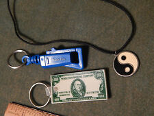 "Random LOT (2 Key Chains + 1 Yin Yang Necklace) ""Makita Power Tools"""