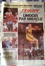 L'Equipe Journal du 15/12/1994; Auxerre/ Autissier/ Limoges/ Schumacher/ Euro 96