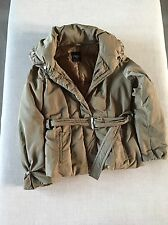 MAXMARA WEEKEND COAT PADDED COAT IN METALLIC SMALL UK 8 10