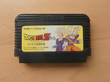 DRAGONBALL Z GAIDEN. NINTENDO FAMICOM. NES.JAPAN IMPORT. QUICK DELIVERY.