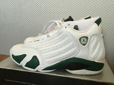 Nike Air Jordan 14 XIV retro Forest Green sz 8.5 NDS rare with original box