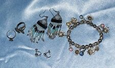 Vintage  5 piece mixed, Rings, Braclet, Earrings