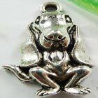 free shipping 40pcs tibet silver dog charms 25x15mm