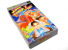 Japanese Nintendo Super Famicom Game STREET FIGHTER 2 II TURBO  JP JAP BOXED