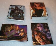WITCHBLADE MILLENIUM    Complete Trading Card Set