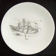 Haviland Limoges Guy Lombal Art Plate L'Albatros Ltd Edition Jacques Casanova