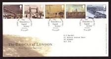 29043) UK - GREAT BRITAIN 2002 FDC London bridges 5v