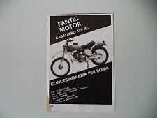 advertising Pubblicità 1975 MOTO FANTIC CABALLERO 125 RC