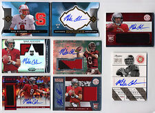 (7 DIFFERENT) MIKE GLENNON Rookie RC AUTO AUTOGRAPH PATCH LOT 2013 Chicago Bears