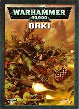 WARHAMMER 40000 - Codex Orki - Orks - Libro dell' Esercito - NUOVO