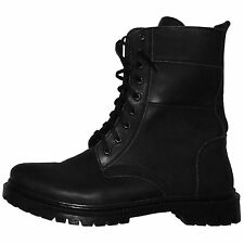 New Military Army Autumn Spring Leather Boots. Ukrainian Uniform US 10 1/2 EU 44