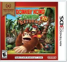 NEW SEALED Donkey Kong Country Returns 3D [Nintendo 3DS] Nintendo Selects 2DS