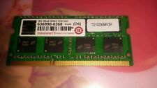 2X TRANSCEND 8GB DDR3 1333 -PC3 10666 SO-DIMM 204PIN CL9 2RX8 -MADE WITH 512MX
