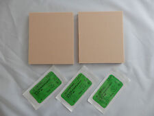 SUTURING PAD 2pc & 5 SUTURES SET FLESH COLOUR SKIN PAD DENTAL MEDICAL VET NURSE